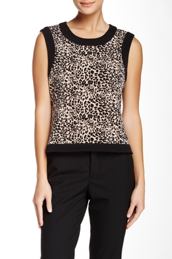 Leopard Print Tank Top by Vince Camuto in How To Get Away With Murder