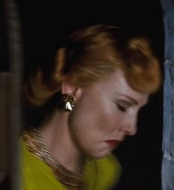 Custom Made Stone Statement Earrings (Lady Tremaine) by Sandy Powell (Costume Designer) in Cinderella