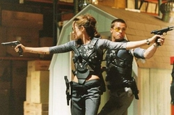 Custom Body Armor (Jane Smith) by Michael Kaplan (Costume Desinger) in Mr. & Mrs. Smith