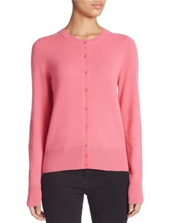 Basic Crewneck Cashmere Cardigan by Lord & Taylor in The Big Bang Theory