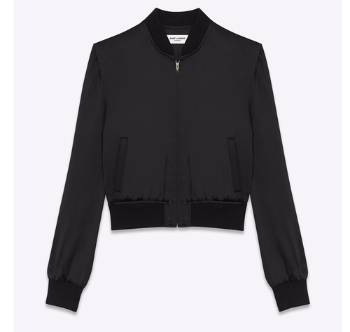 Firework Teddy Jacket by Saint Laurent in Keeping Up With The Kardashians - Season 12 Episode 15