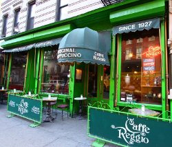 New York City, New York by Caffe Reggio in Top Five
