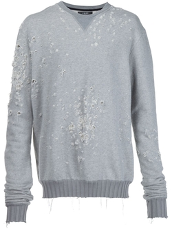 Distressed Sweater by Amiri   in Empire