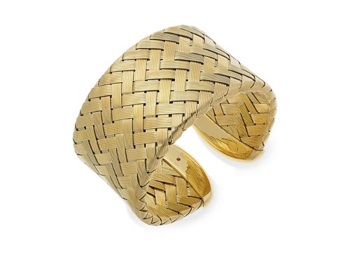 18k Gold over Sterling Silver Bracelet by The Fifth Season by Roberto Coin in Sex and the City 2
