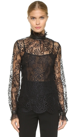 Lace Turtleneck Blouse by Tamara Mellon in Keeping Up With The Kardashians