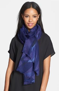 Print Scarf by Halogen in Limitless