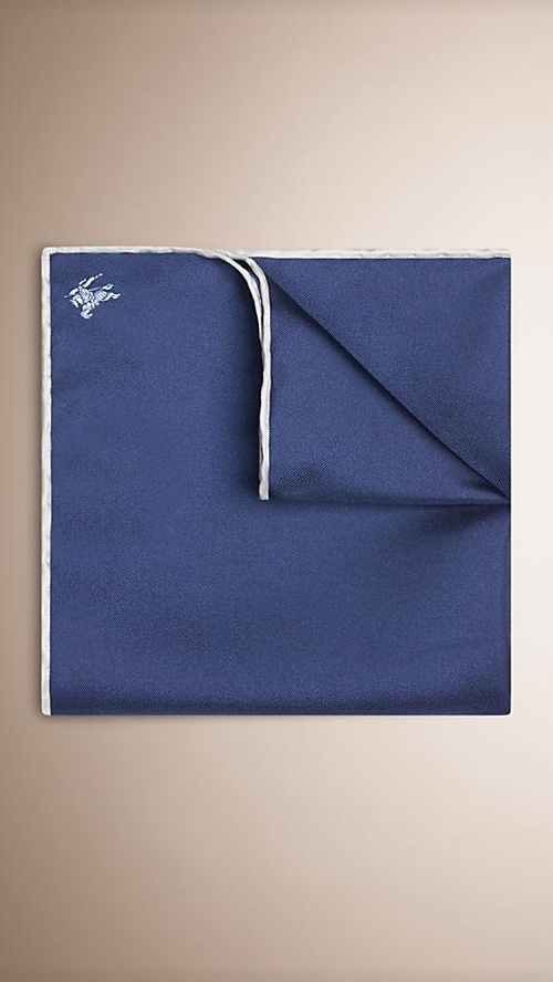 Silk Pocket Square by Burberry in Ballers - Season 1 Episode 2