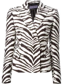Zebra Print Jacket by Emanuel Ungaro in Empire