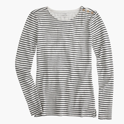 Long-Sleeve Striped Painter T-Shirt by J.Crew in Modern Family
