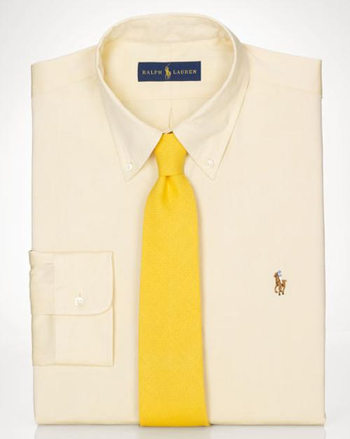 Custom Pinpoint Oxford Shirt by Ralph Lauren in Hall Pass