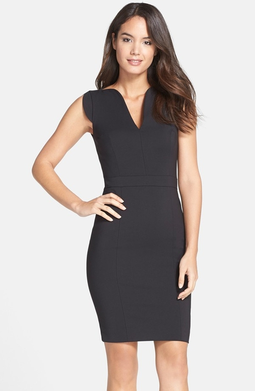 'Lolo' Stretch Sheath Dress  by French Connection in Pretty Little Liars - Season 6 Episode 11