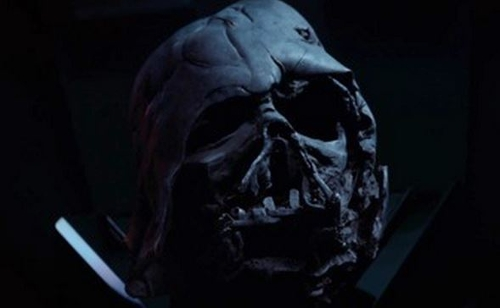 Darth Vader Helmet by Michael Kaplan (Costume Designer) in Star Wars: The Force Awakens