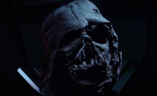 Darth Vader Helmet by Michael Kaplan (Costume Designer) in Star Wars: The Force Awakens