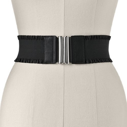 Ruffled Stretch Belt by Apt. 9 in Grease