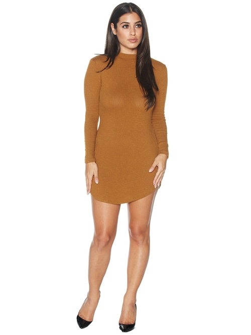 I Got The Scoop Mini Dress by Naked Wardrobe in Keeping Up With The Kardashians - Season 11 Episode 12