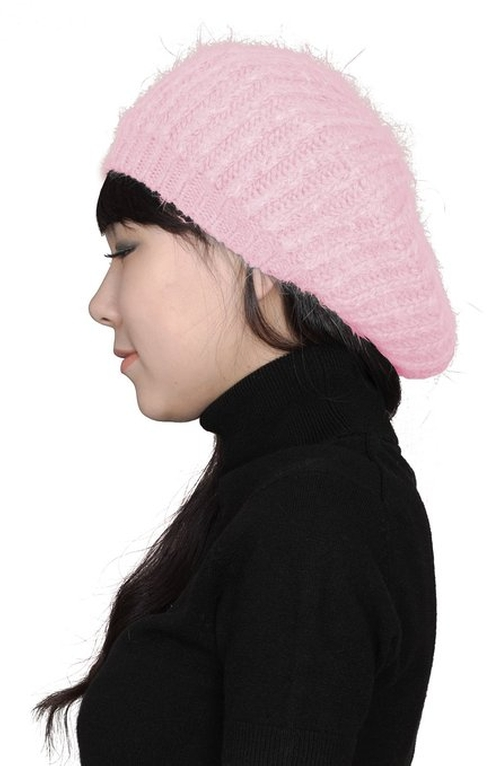 Knit Beret Winter Beanie Hat by Caphouse in Me and Earl and the Dying Girl