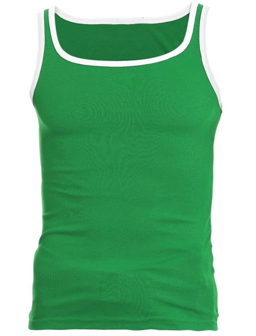 Contrast Color Tank Top by Uxcell in McFarland, USA