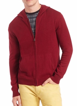 Full Zip Hoodie by Saks Fifth Avenue Collection in XOXO