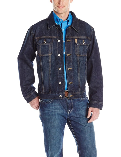 Stonewash Denim Jacket by Cinch in Chelsea - Season 1 Episode 5