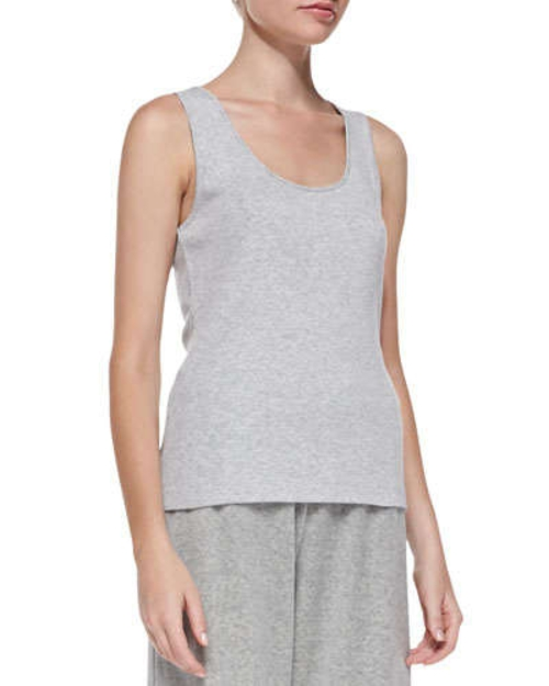 Sleeveless Cotton Tank Top by Joan Vass in Magic Mike XXL
