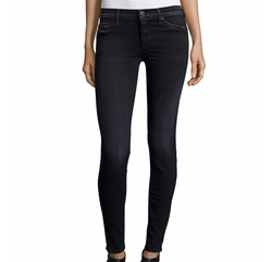 Nico Mid-Rise Super Skinny Denim Jeans by Hudson in Sisters