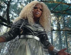 Custom Made Black & White Gown by Paco Delgado (Costume Designer) in A Wrinkle In Time