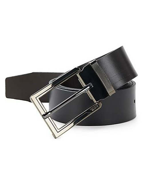 Ballistic Reversible Leather Belt by Tumi in Daddy's Home