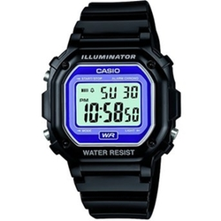 Digital Black Strap Watch by Casio in The Big Bang Theory