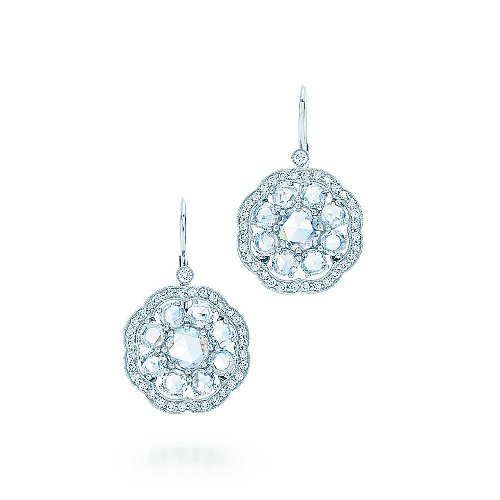 Fleur Earrings by Tiffany & Co. in The Great Gatsby