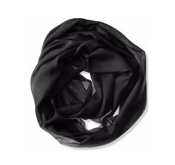 Crepe Infinity Loop Scarf by Calvin Klein in The Boss