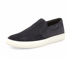 Barron Suede Slip-On Sneakers by Vince in Jane the Virgin