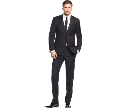 Extra Slim-Fit Tuxedo by DKNY in While We're Young