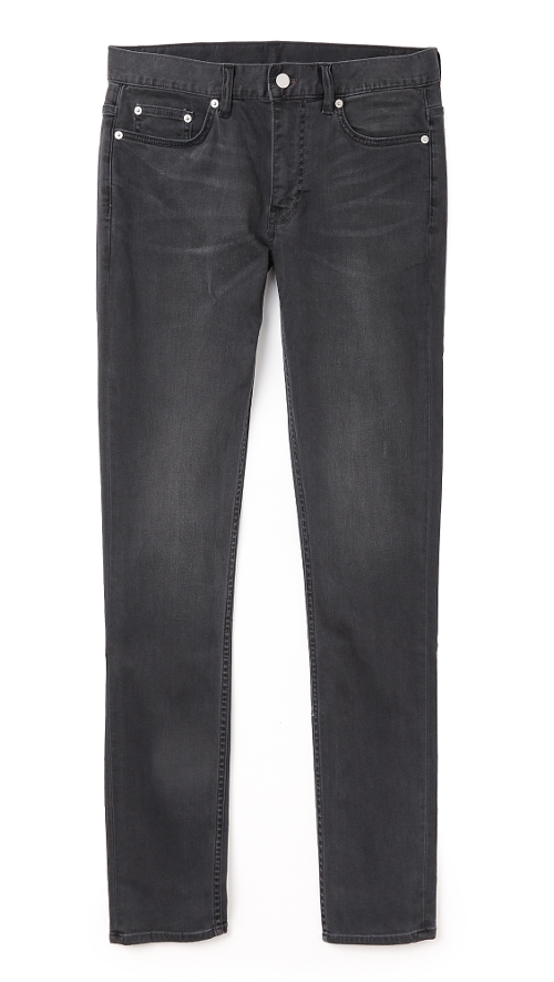 Skinny Fit Classic Faded Jeans by BLK DNM in The D Train