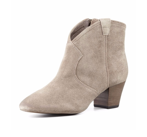 Spiral Suede Western Booties by Ash in The Bachelorette - Season 12 Looks