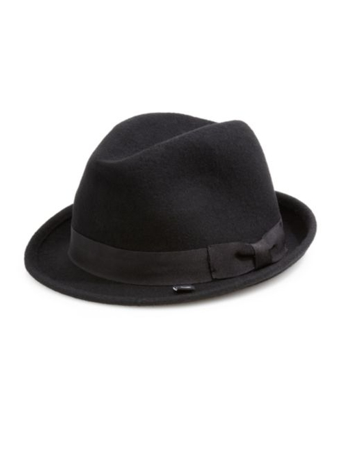 Wool Fedora Hat by Block Headwear in The Accountant