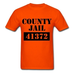 County Jail T-Shirt by Spread T-Shirt in Straight Outta Compton