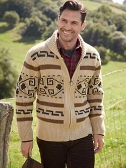 The Original Westerley Sweater by Pendelton in The Big Lebowski