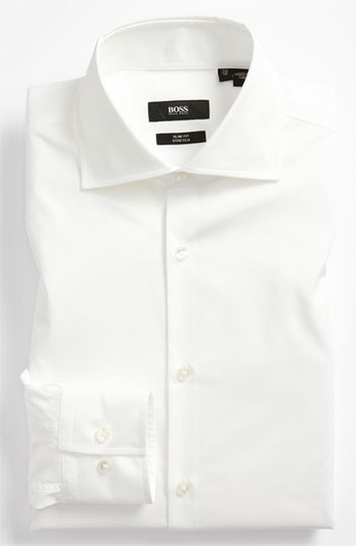 'Jaron' Slim Fit Dress Shirt by Boss in The Man from U.N.C.L.E.