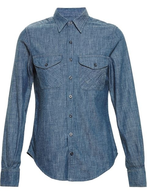 Denim Shirt by Citizens Of Humanity in Quantico - Season 1 Episode 9