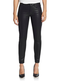 Faux Leather Ankle Jeans by Mother in Pretty Little Liars