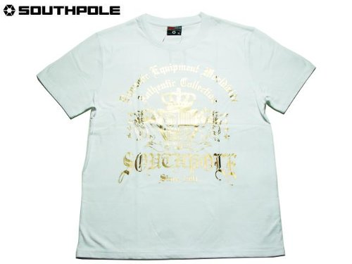 Gold Print T-Shirt by Southpole in Top Five
