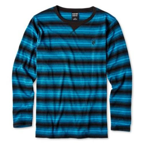 Striped Long-Sleeve T-Shirt by Zoo York in Addicted