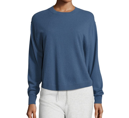 Shirttail Cashmere Crewneck Sweater by Vince in Fifty Shades Darker