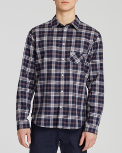 Check Button Down Shirt by Paul Smith in Love the Coopers