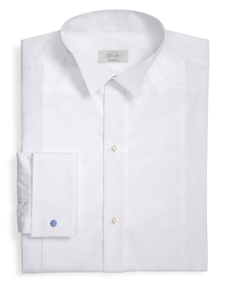 Wing-Tip Bib Formal Dress Shirt by Eton Of Sweden in Crimson Peak