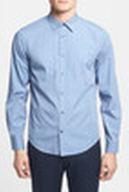 Trim Fit Woven Shirt by Vince in Spotlight