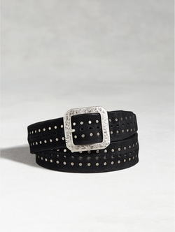 Leather Studded Belt by John Varvatos in Nashville