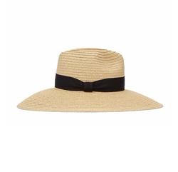 Constance Wide-Brimmed Straw Hat by Reiss in Unbreakable Kimmy Schmidt