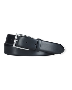 Douglas Calfskin Buckle Belt by Ralph Lauren in Arrow