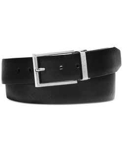 Leather Reversible Colorblock Belt by Michael Kors in Joy